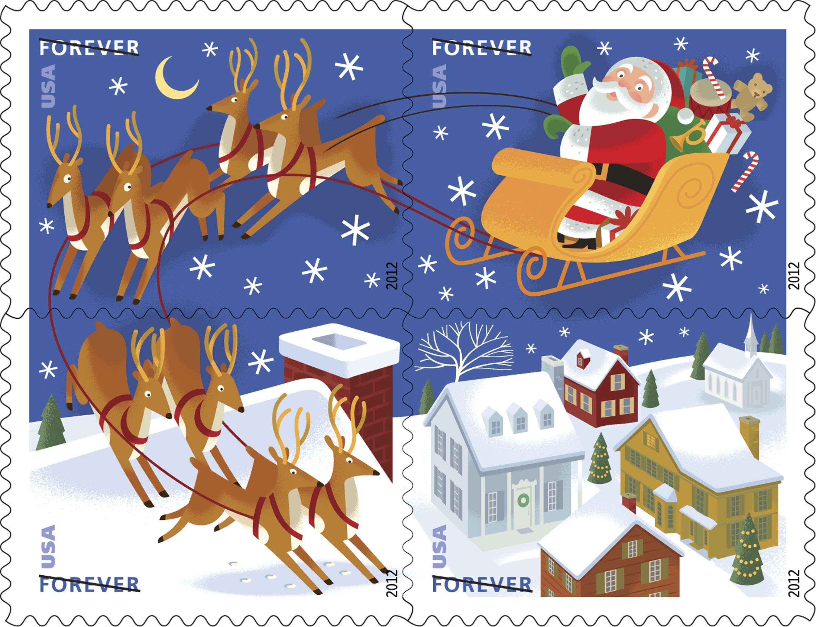 U S Postal Service St Nick Postalnews Com
