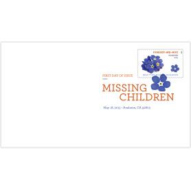 Missing Children Digital Color Postmark