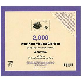 Missing Children Stamp Deck Card