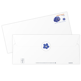 Missing Children Stamped Envelopes with Seals
