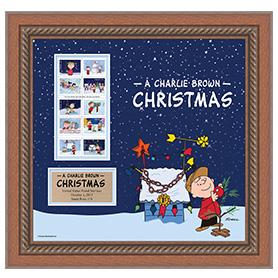 A Charlie Brown Christmas Framed Art
