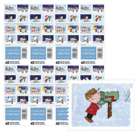 A Charlie Brown Christmas Press Sheet