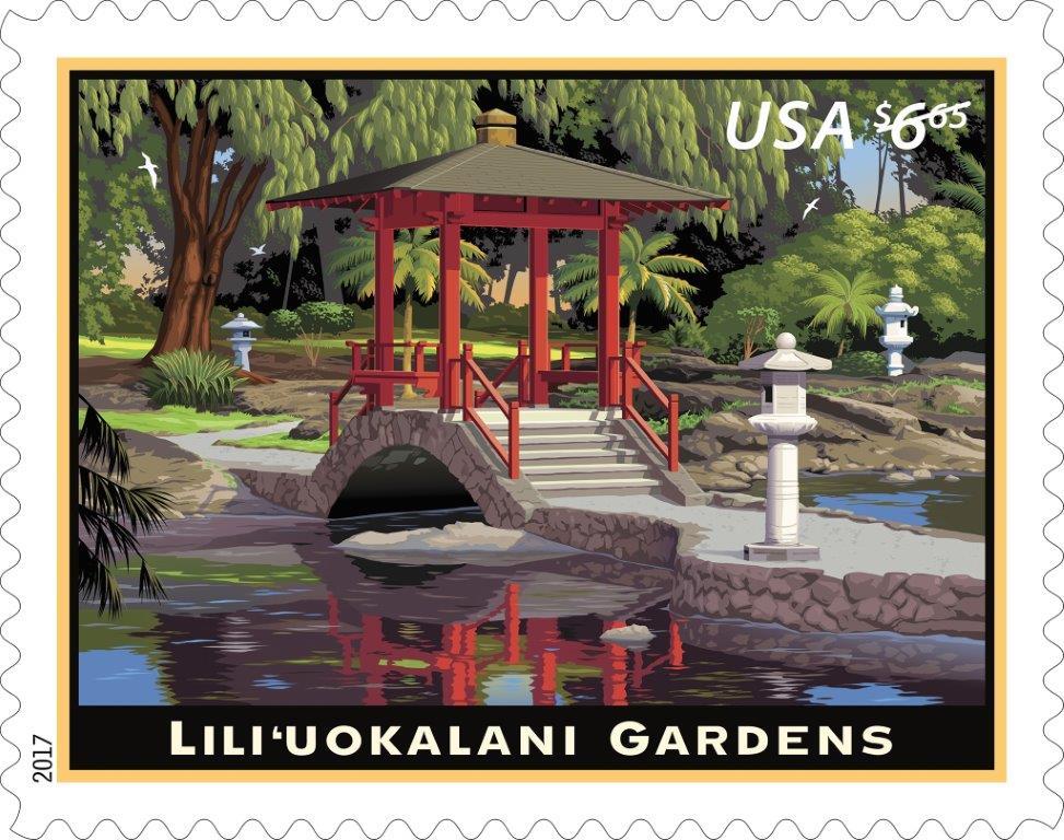 Lili'uokalani Gardens (Priority Mail)