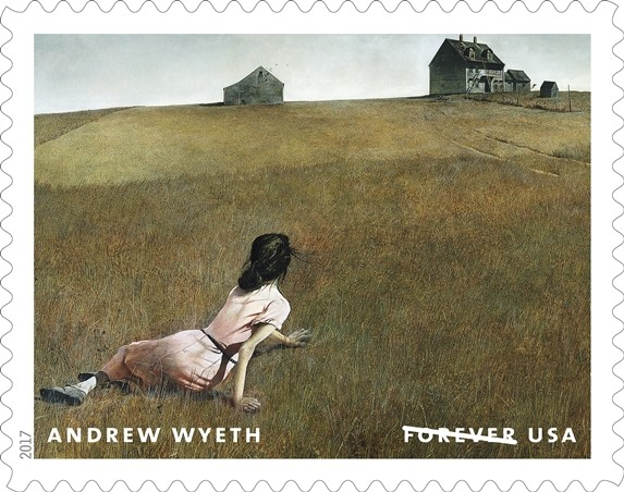 Andrew Wyeth Forever stamps