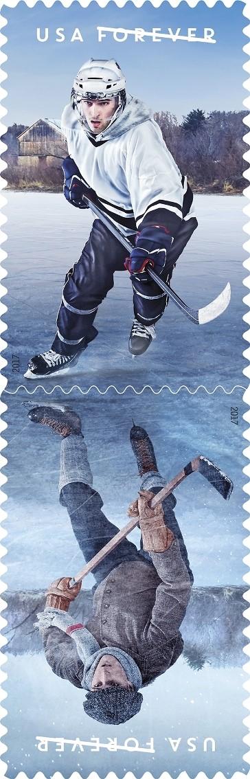 Hockey stamp