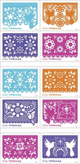 USPS Holiday stamps