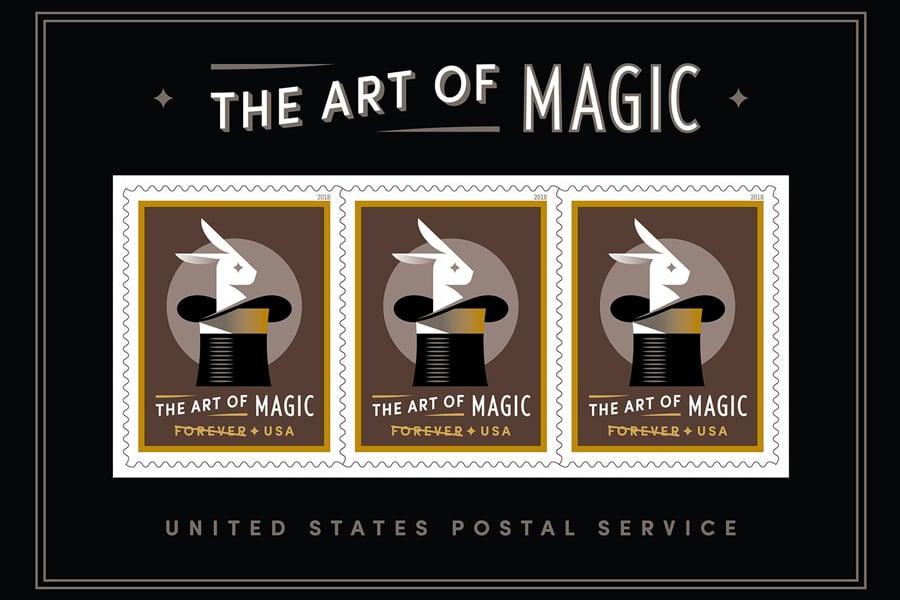 A Magical Illusion On A Postage Stamp Postalnews Com