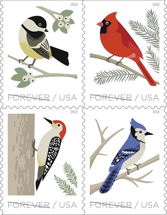 Bird Forever stamp