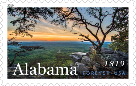 Alabama Statehood stamp