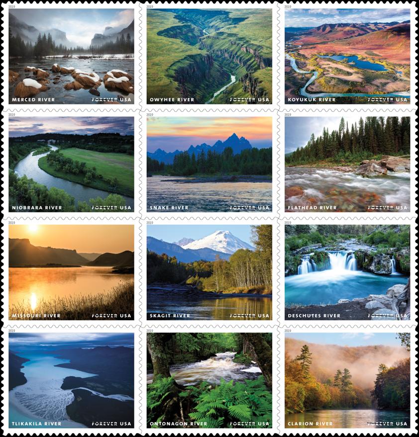 USPS unveils new forever stamps for 2019 | postalnews com