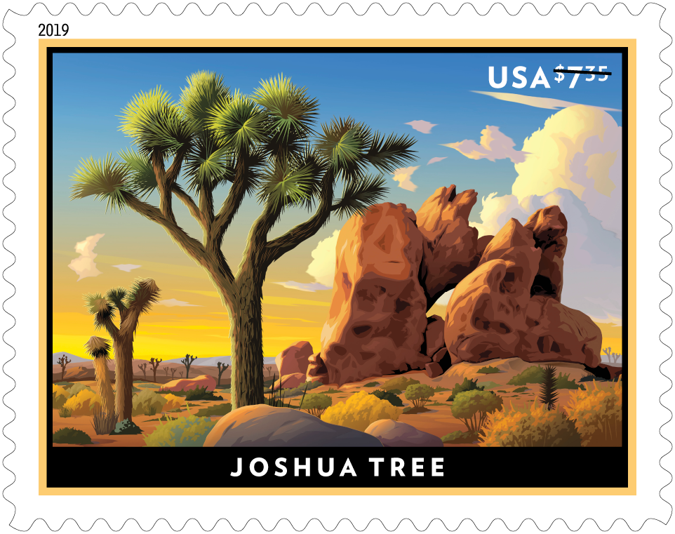 Joshua Tree stamp