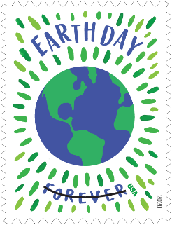 Earth Day Forever Stamp