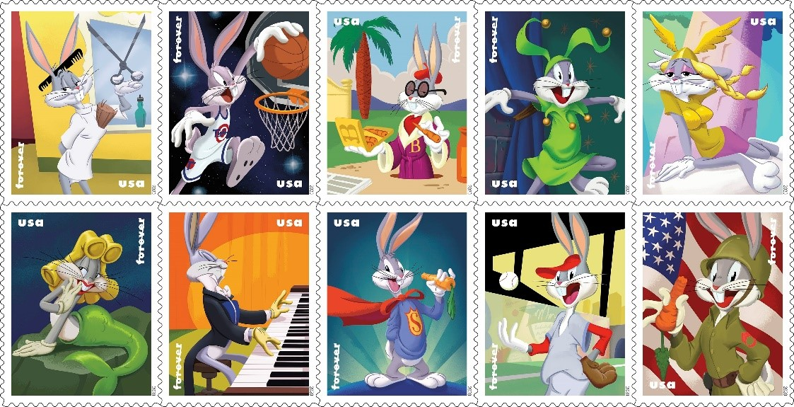 Bugs Bunny Forever stampsheet