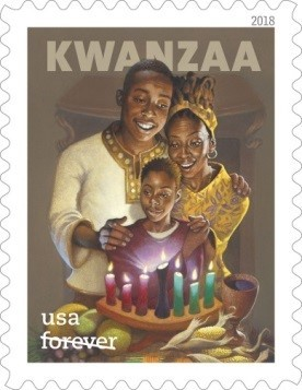 Kwanzaa Forever stamp