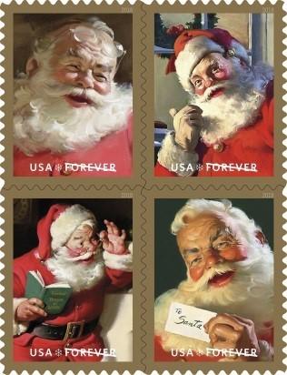Sparkling Holidays Forever stamp