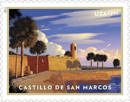 Castillo de San Marcos stamp