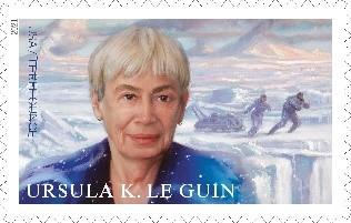 Ursula K. Le Guin stamp