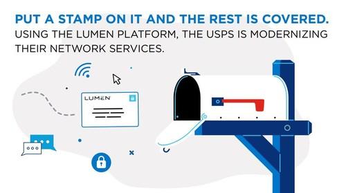 Using the Lumen platform, the U.S. Postal Service is modernizing their network services.