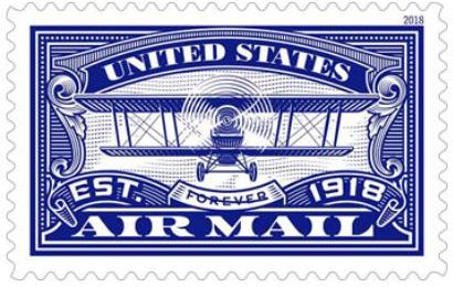 how many stamps does it take to mail a letter usps to celebrate 100th anniversary of u s airmail 22199 | airmailblue